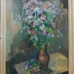 Полевые цветы х.м. 55х70 2005г