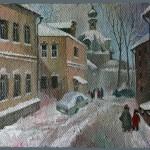 Малый Ордынский переулок 50х70 2007г.
