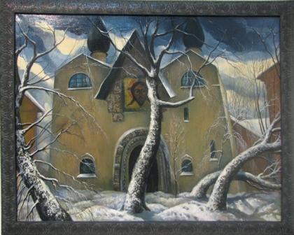 Марфо-Марьинская обитель зимой