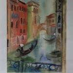 Прогулка по Венеции акв. белила 35-47 2011г.
