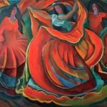 Танец 80х100 2013г.
