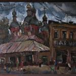 Замоскворецкий пейзаж 50х60 1989г.
